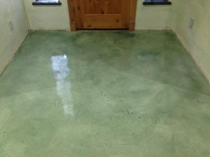 Entryway Metallic Epoxy