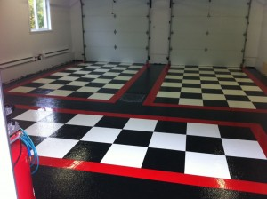 Custom Epoxy Garage
